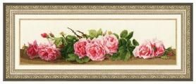 Золотое Руно Набор для вышивания Розовый аромат 13,4 х 45,8 см (СЖ-043)