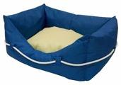 Лежак для собак ZOOexpress Пухлик Морская №2 49х36х22 см