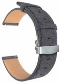 Lyambda Универсальный кожаный ремешок Minkar для часов 20 mm (DSP-10-20)