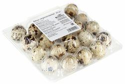 Яйцо перепелиное ВкусВилл столовое домашнее С, 20 шт.