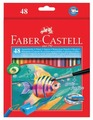 Faber-Castell Акварельные карандаши Colour Pencils 48 цветов (114448)