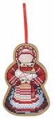 Созвездие Набор для вышивания крестом на основе Мамушка-нянюшка 9 х 6 см (О-109)