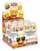 Шоколадное яйцо Сладкая Сказка Emoji с игрушкой, молочный шоколад