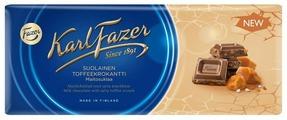 Шоколад Fazer молочный с крошкой из соленой мягкой карамели 30% какао