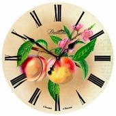 Часы настенные кварцевые Династия Персики