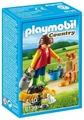 Набор с элементами конструктора Playmobil Country 6139 Пестрая кошачья семья
