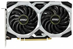 Видеокарта MSI GeForce GTX 1660 Ti 1830MHz PCI-E 3.0 6144MB 12000MHz 192 bit HDMI HDCP VENTUS XS OC