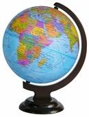Глобус физико-политический Глобусный мир Двойная карта 250 мм (10394)