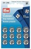 Prym Кнопки пришивные (341166, 341246), 11 мм, 12 шт.