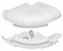 Угол внешний переменный от 60° до 120° - для кабель-каналов 35х80/105. Цвет Белый. Legrand DLP (Легранд ДЛП). 010621
