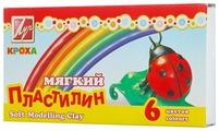 Пластилин Луч Кроха 6 цветов (12С863-08)