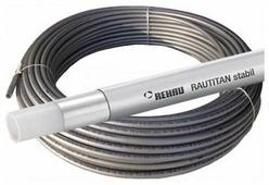 Труба из сшитого полиэтилена армированная алюминием REHAU Rautitan stabil универсальная 11301311100, DN20 мм