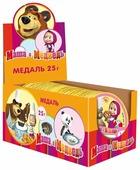 Фигурный шоколад Монетный двор ШОКО Маша и Медведь, шоу бокс