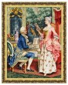 Золотое Руно Набор для вышивания Урок пения 50,2 х 38,1 см (МК-034)