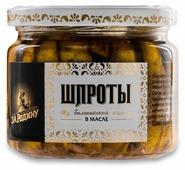 Капитан Вкусов Шпроты из балтийской кильки в масле, 270 г