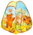 Палатка Играем вместе Винни-Пух конус в сумке GFA-VN01-R
