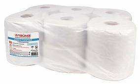 Туалетная бумага Лайма Универсал серая однослойная 129571