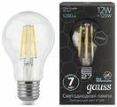 Лампа светодиодная gauss 102802212, E27, A60, 12Вт