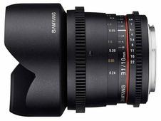 Объектив Samyang 10mm T3.1 ED AS NCS CS VDSLR Canon EF