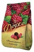 Малина фружеле Фруже, темный шоколад