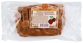 Дедовский хлеб Слойка истринская с начинкой Клубника