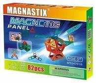 Магнитный конструктор Magnastix Magnetic Panel MT04701B 62 детали