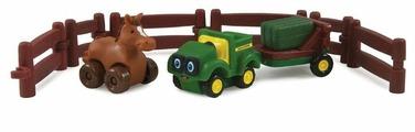 Игровой набор Tomy Трактор Джонни и лошадка на ферме 377222