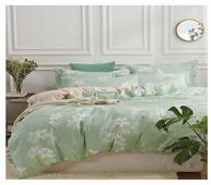 Постельное белье 1.5-спальное Patrizia Meris 50х70 см, полисатин