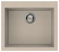 Врезная кухонная мойка elleci Quadra 105 granitek 57х50см искусственный гранит