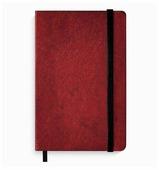 Блокнот Феникс КРАСНЫЙ МЕТАЛЛИК А5, 96 листов (49856/15)