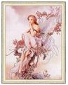 Золотое Руно Набор для вышивания бисером Фея цветов 50 х 38 см (РТ-015)