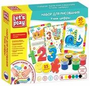 Let's Play Набор для рисования Учим цифры (35847)