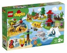 Конструктор LEGO Duplo 10907 Животные мира