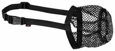 Сетка-намордник для собак TRIXIE Защита от отравленных приманок M-L d 27 см/22-46 см (17594)
