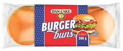 Dan Cake Булочки для гамбургеров 50 г