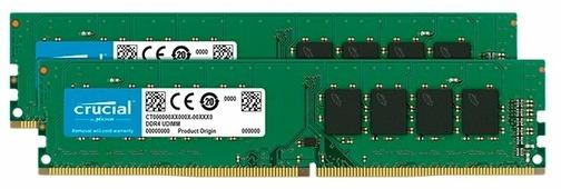 Оперативная память 8 ГБ 2 шт. Crucial CT2K8G4DFS832A