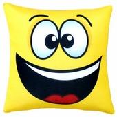 Подушка декоративная Мнушки Смайл Радость 35х35 см (Ап01сма01)