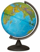 Глобус физический Глобусный мир На английском языке 250 мм (10500)