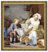 Золотое Руно Набор для вышивания Балованное дитя 53 х 50 см (МК-017)