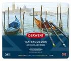 Derwent Акварельные карандаши WaterColour, 24 цвета (D-32883)