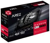 Видеокарта ASUS AREZ Radeon RX 550 1071Mhz PCI-E 3.0 4096Mb 7000Mhz 128 bit DVI HDMI Display Port HDCP Phoenix