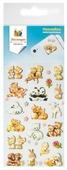 Липляндия Набор зефирных наклеек Животные 3