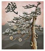 Созвездие Набор для вышивания бисером серия Фен-шуй, Финансовое благополучие 20 х 22,5 см (Ф-119)