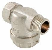 Фильтр механической очистки VALTEC VT.387 муфтовый (ВР/НР), латунь, с манометром