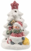 Фигурка NEON-NIGHT Елочка со снеговиком 12,1 см