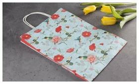 Пакет подарочный ВкусВилл женский 22 х 30 х 11 см