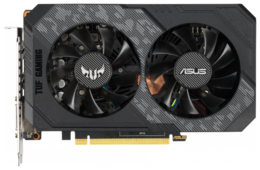 Видеокарта ASUS GeForce GTX 1660 1500MHz PCI-E 3.0 6144MB 8002MHz 192 bit DVI HDMI DisplayPort HDCP TUF Gaming OC