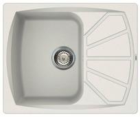 Врезная кухонная мойка elleci Living 125 granitek 61х50см искусственный гранит