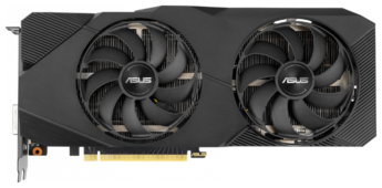Видеокарта ASUS GeForce RTX 2070 1410MHz PCI-E 3.0 8192MB 14000MHz 256 bit DVI 2xHDMI HDCP Dual Advanced EVO