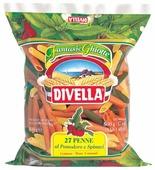 Divella Макароны Penne 27 с томатами и шпинатом, 500 г
